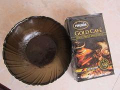 Маска для улучшения цвета лица из сыворотки и молотого кофе