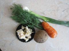 Овощной суп для детей