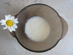 Маска для уменьшения пор из сыворотки и яичного белка