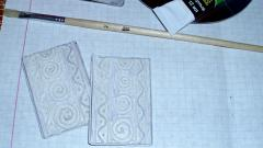 Серьги из бумаги в стиле пейп-арт, как сделать