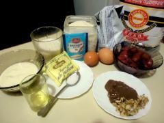 Манник с клубникой - рецепт с фото