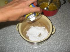 Печенье с грецкими орехами и сахарной пудрой - рецепт с фото