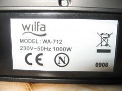 Вафельница Wilfa WA-712