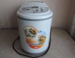 Автоматическая хлебопекарня LG HB 156JE