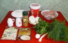 Медвежьи ушки - пельмени по-сибирски - рецепт с фото