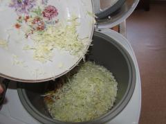 Суп в мультиварке - овощной, постный