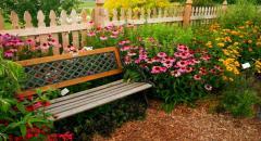 Скамейка для сада своими руками - как сделать - описание, личный опыт