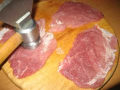 Шницель из свинины, как приготовить - рецепт с фото