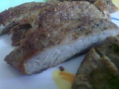 Мясо - гриль на сковороде в домашних условиях - мастер класс с фото