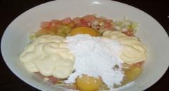 Оладьи из курицы - рецепт приготовления