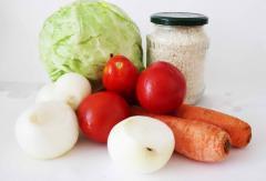Голубцы вегетарианские - просто и полезно