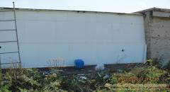 Утепление стен (дома, гаража) пенопластом