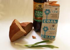 Тюря из хлеба и кваса
