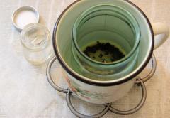 Мазь с прополисом (оливковое масло, прополис)