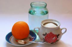 Напиток из апельсиновых корок