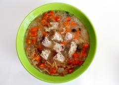 Ароматный суп из индейки