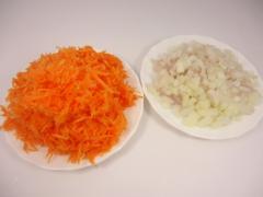 Куриные котлеты с морковью