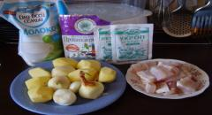 Рыба в сливках или в молоке - рецепт