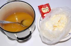 Торт Теремок из печенья (без выпечки)