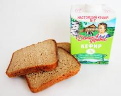 Маска для быстрого роста и объема волос (ржаной хлеб, кефир)
