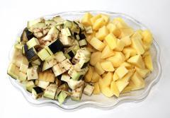 Овощное рагу с баклажанами