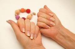 Простые рисунки на ногтях - коктейльный маникюр