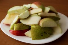Компот Ассорти (слива, яблоко, груша)