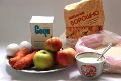 Рецепт оладьев с яблоками и морковкой