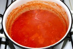 Заправка из помидор и сладкого перца