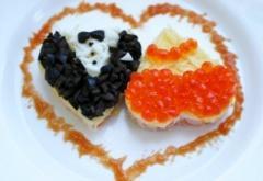 Блюдо на день Святого Валентина - Сердечки