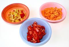Рецепт курицы, тушеной с картофелем и овощами