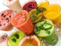 Рецепты смузи (фруктовые, овощные)