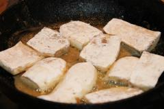 Жарим белые баклажаны
