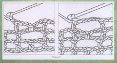 Длинная салфетка - вяжем крючком