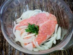 Рецепт семги в духовке