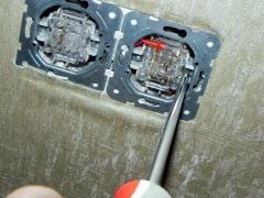 Ремонт выключателя - инструкция с фото