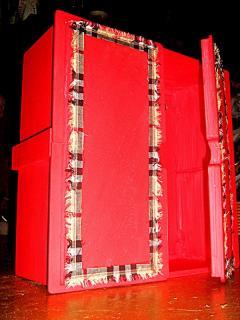 Декор шкафа (небольшого шкафчика) своими руками