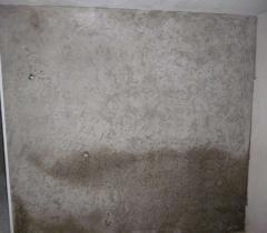 Нанесение декоративной штукатурки Короед (после выравнивания стен)