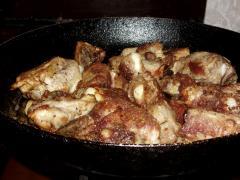 Рецепт свиных ребрышек по-гусарски