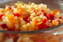 Овощные манты (постные манты с овощной начинкой)