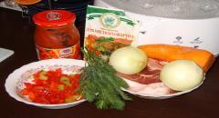 Суп - гуляш с болгарским перцем — рецепт приготовления