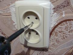 Как заменить электрическую розетку