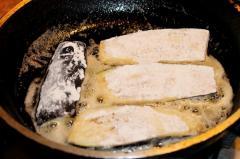Рецепт жареных баклажанов