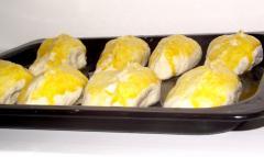 Пирожки из дрожжевого теста (ассорти)