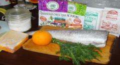 Треска под апельсиновым соусом — рецепт приготовления с фото