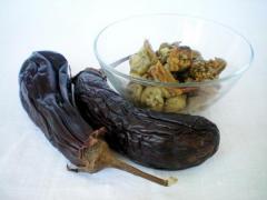 Рецепт салата на зиму из печеных овощей в томате