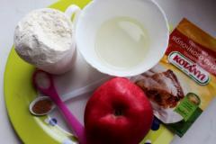 Рецепт печенья с корицей, яблоками и имбирем