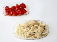 Овощное рагу с грибами - вешенками