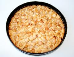 Рецепт пирога с грушами и яблоками