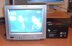 Ремонт портативного телевизора Dongshong